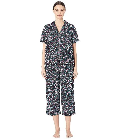 Kate Spade New York Cotton Lawn Cropped Pajama Set