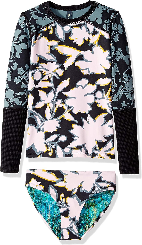 Maaji Girls' Miami Mall Limited time trial price Long Sleeve Set Rashguard Swimsuit