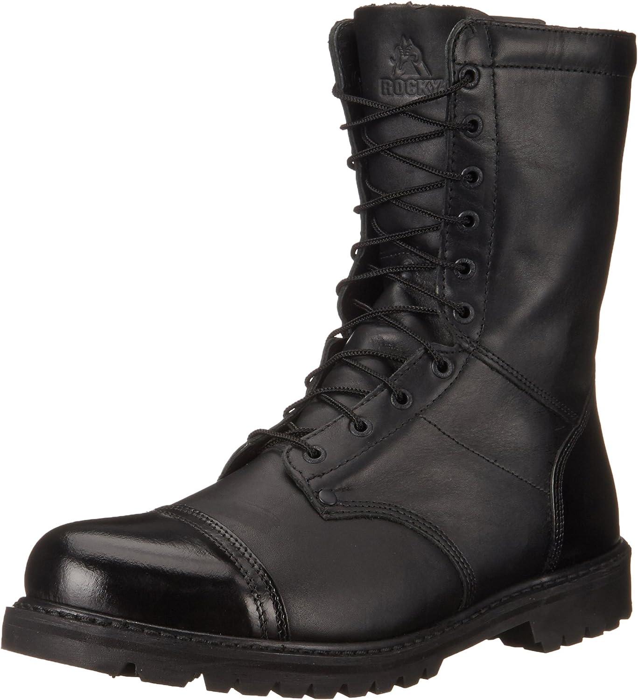 Rocky Elegant Men's 10 Inch Work Now on sale Paraboot 2095 Boot