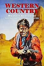 WESTERN COUNTRY Sammelband 68: Romane 336-340 (5 Western-Romane) (German Edition)