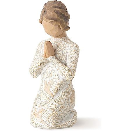 Willow Tree Preghiera di Pace Resina, Design di Susan Lordi, 10 cm