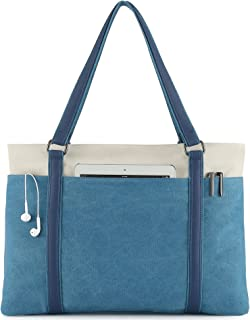 Scioltoo Large Tote Bag for Women Shoulder Purse 15.6 In Laptop Work Bag