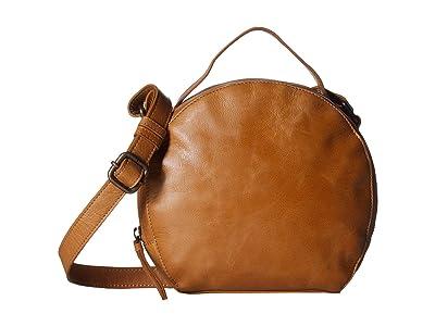 Lucky Brand Yucca Circle Crossbody (Walnut) Cross Body Handbags
