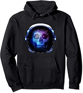 Dead Skull Astronaut Death In Space Galaxy  Pullover Hoodie