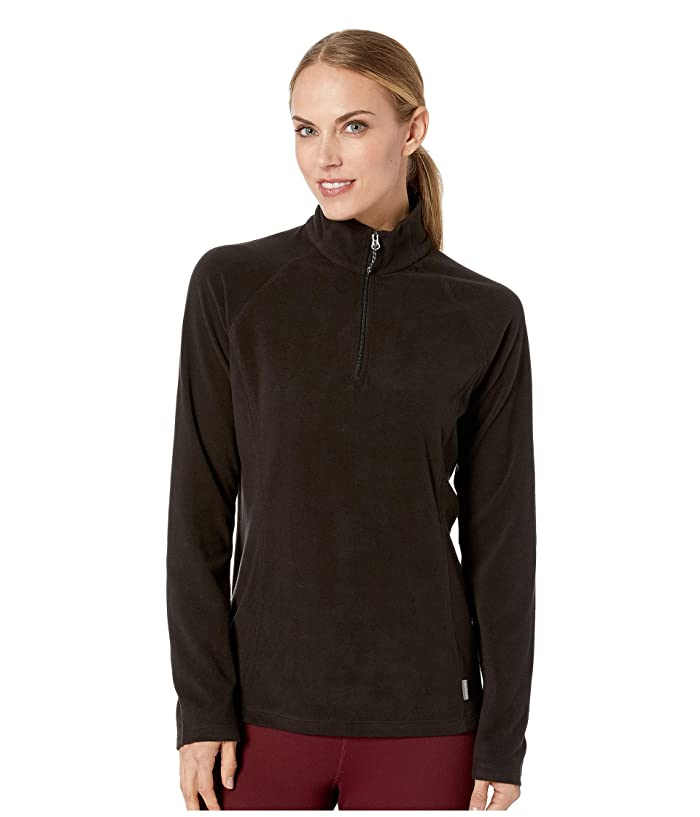 White Sierra Alpha Beta 1/4 Zip (Black) Women