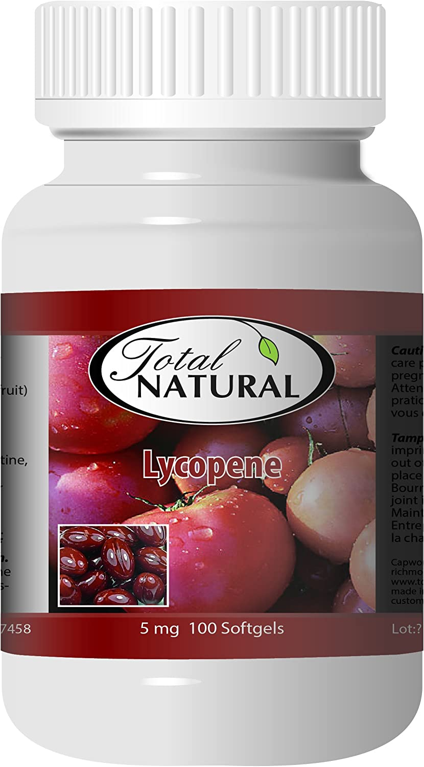 Sale special price Lycopene Supplement 5mg 100s 2 Natural by Sales for sale Bottles Total Best