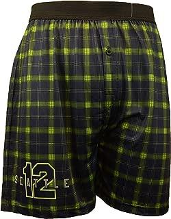 Pro Football Sports Comfy Boxer Shorts   Minnesota SKOL & Seattle 12th Man Soft Unisex Underwear