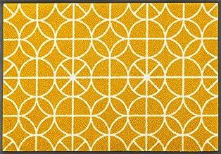 Wash&Dry Doormat, Acrylic, Yellow, 50 x 75 x 0.7 cm