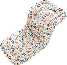 Baby Sitzauflage für Kinderwagen, 32x80 cm Baby Sitzeinlage aus 100% Baumwolle Weiche und Reversible Autositz Kinderwagenauflage für Babyschale BuggyZoo