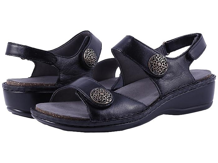 Aravon  Candace (Black) Womens Sandals