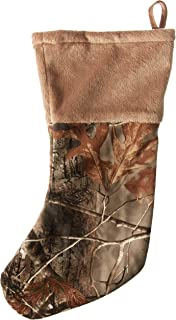 Carstens Shearling Realtree Camo Christmas Stocking