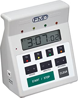 FMP 151-7500 Digital 4 -Channel Commercial Kitchen Countdown Timer, Water Resistant