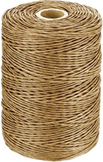 673 Feet Floral Wire Vine Wire Bind Wire Rustic Wire Wrapping Wire for Flower Bouquets Light Brown