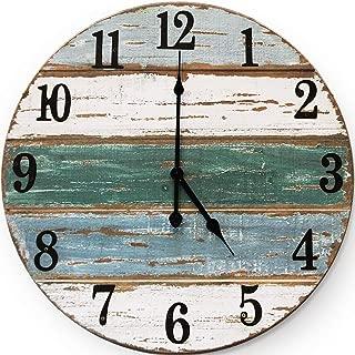 large coastal wall clock