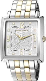 Sèvres Two Tone Gold Swiss Made - PC106361S09-Silver - stainless-steel-Square