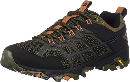Merrell Hommes's Moab FST 2 Waterproof Hiking chaussures, Olive Adobe, 14.0 M US