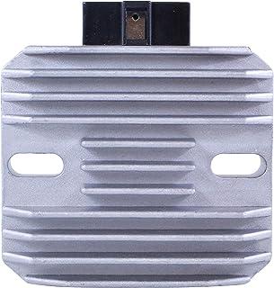 Voltage Regulator Rectifier For Piaggio/Gilera/Vespa/Derbi/Aprilia Scooter/Motorcycle 1997-2017 OEM Repl.# 58090R 58090R5 82501R AP8127418 486062 Beverly BV Fly Sportcity 50 125 150 200 250