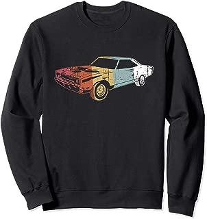 Retro Muscle Car Racing Hot Rod Automobile Auto Gift Sweatshirt