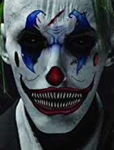Halloween Realistic Temporary Costume Make Up Face Tattoo Kit Men or Women Adult - (Scary Clown) - 1 Kit