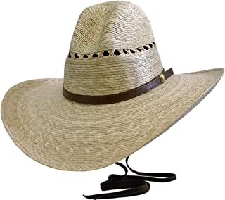 BULL-SKULL HATS, PALM LEAF COWBOY HAT, GUS 507