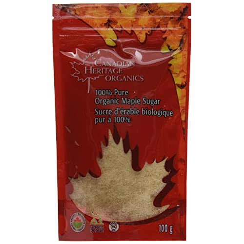 3d30e285e93 Canadian Heritage Organic Maple Sugar-Granulated Maple Sugar