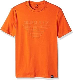Men's Plus Size Tonal Eagle Logo Tshirt