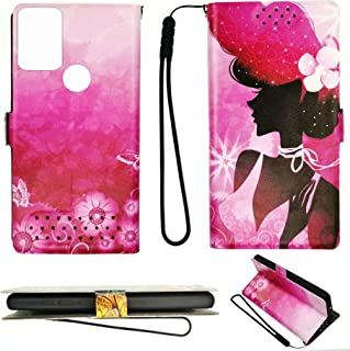 HUAYIJIE Flip Case for TECNO SPARK 7 PRO Camon 17 Case Cover Pu Leather Stand Case SN