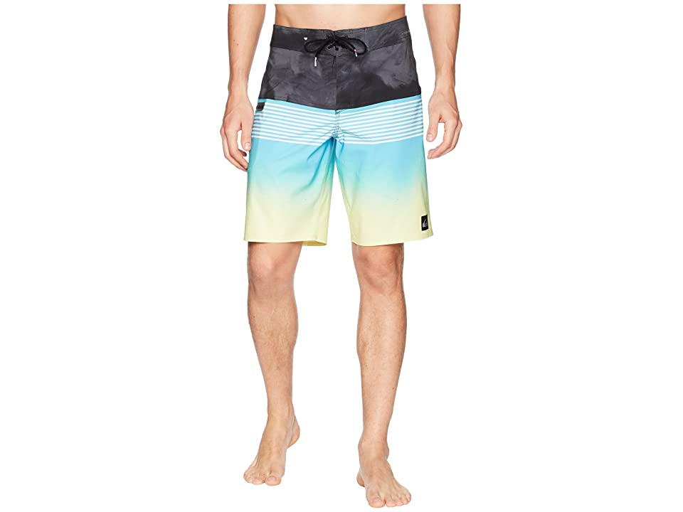 Quiksilver Highline Lava Division 20 Boardshorts (Cyan Blue) Men