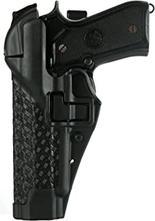 BlackHawk. Serpa Nivel 3 Auto Lock Duty Basketweave Acabado Holster