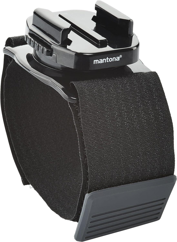 Mantona 21277 Armgurt Mit 360 Grad Drehbarem Kamera