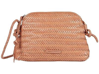 Loeffler Randall Mallory Woven Crossbody Bag (Blush) Handbags