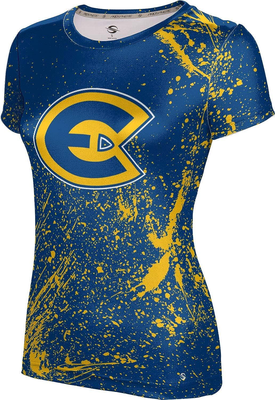 University of Wisconsin-Eau Claire Girls' Performance T-Shirt (Splatter)