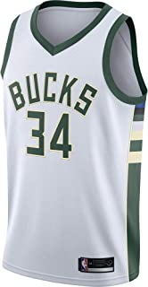 Giannis Antetokounmpo Milwaukee Bucks #34 Official Youth Swingman Jersey
