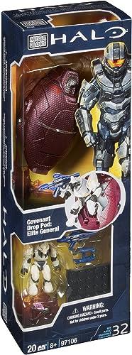 Mega Bloks 97106 - Halo  Covenant Drop Pod - Elite General [UK Import]