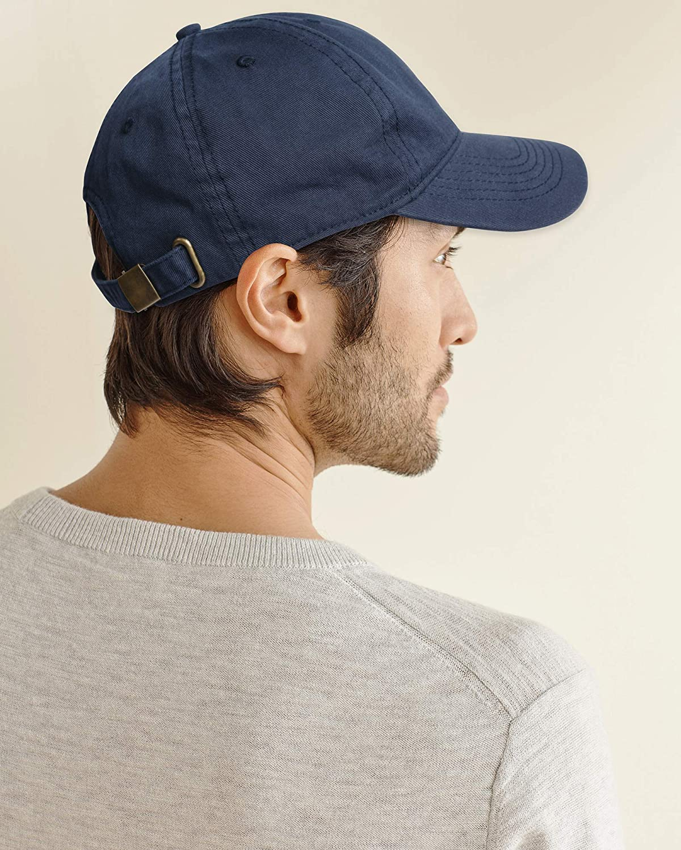 Men and Women Vintage Washed Distressed Cotton Baseball Cap Plain Blank Adjustable Classic Baseball Hat Cap
