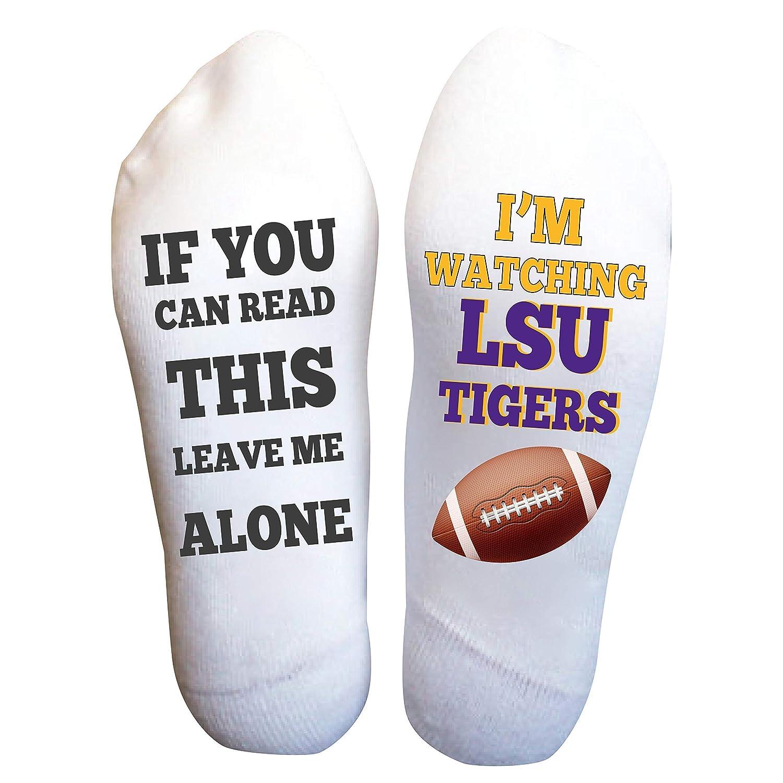 LSU Socks Men's Nashville-Davidson Mall Popular shop is the lowest price challenge American Christmas Gift Birthday Football