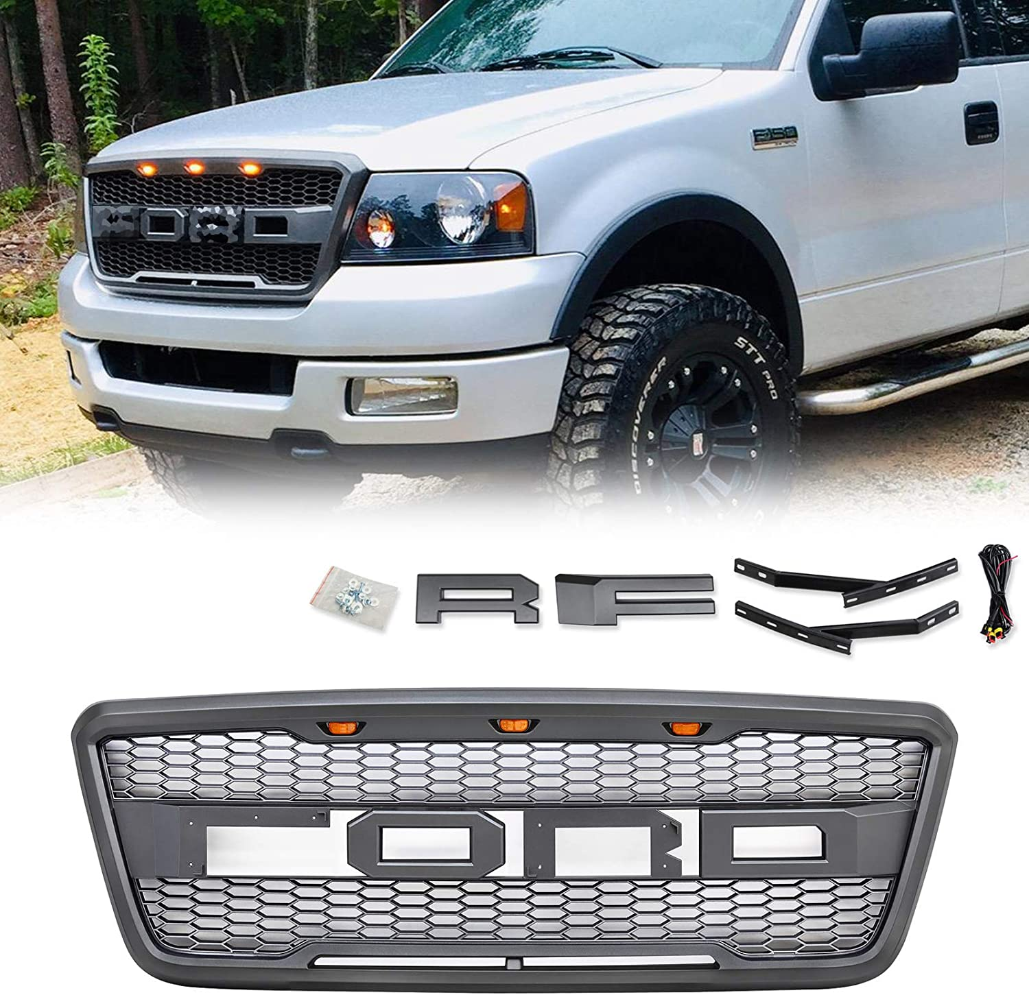 Grilles Automotive Including XL XLT Lightning King Ranch and ...