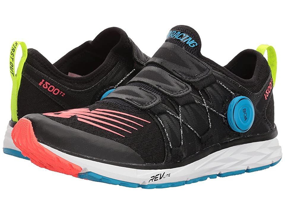New Balance 1500v4 Boa(r) (Black/Hi-Lite/Maldives Blue) Women
