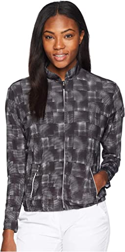 Hologram Print Sunsense® Full-Zip Jacket with 50 UVP