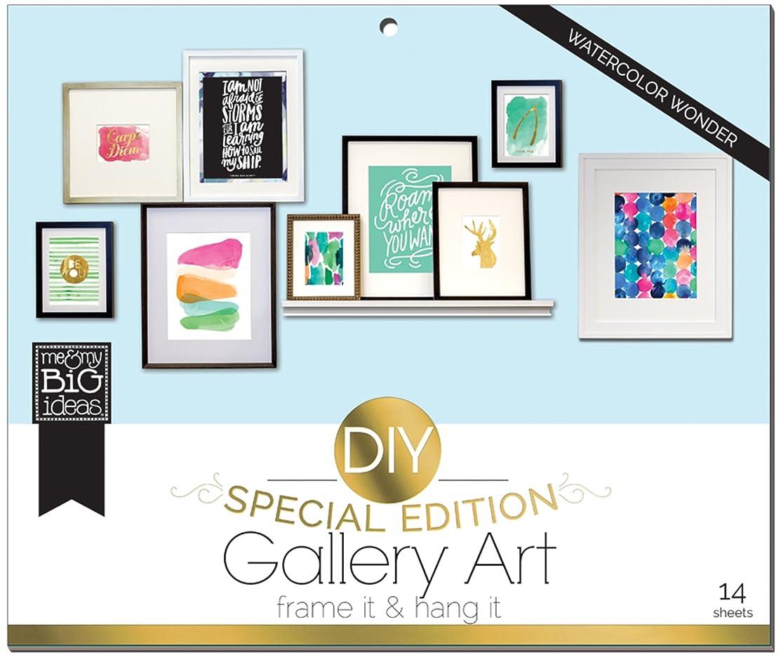 me & my BIG ideas DIY Gallery Art Pads, Watercolor Wonder