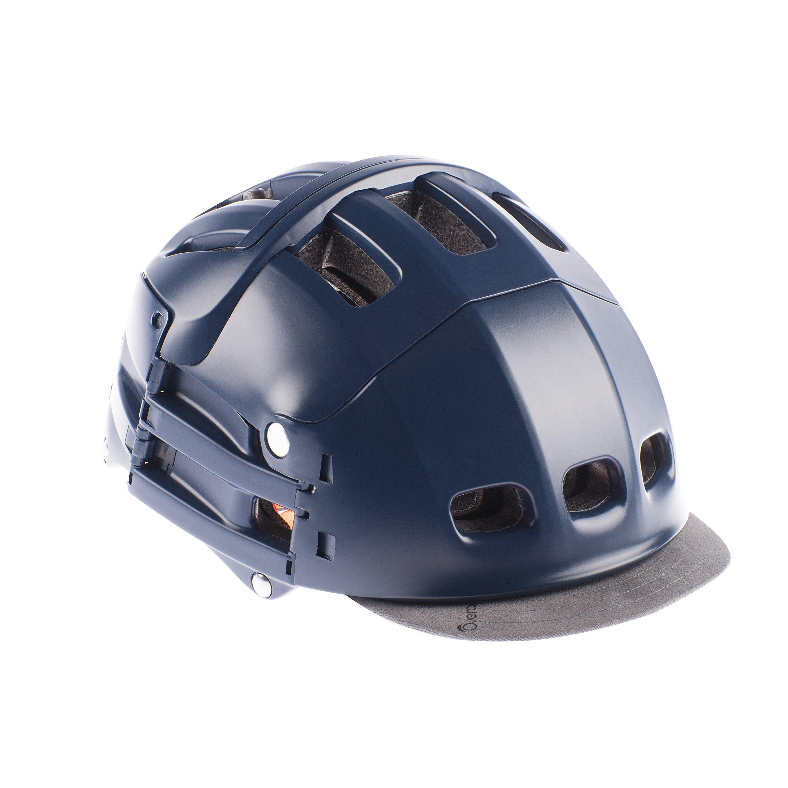 Visera extraíble de tela utilizable sobre casco plegable Plixi ...