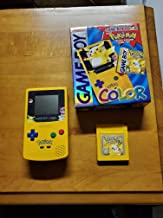 Limited Edition Pokemon Yellow Game Boy Color System