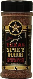 Jimmy O's Texas Rub, Spicy, 7 Ounce