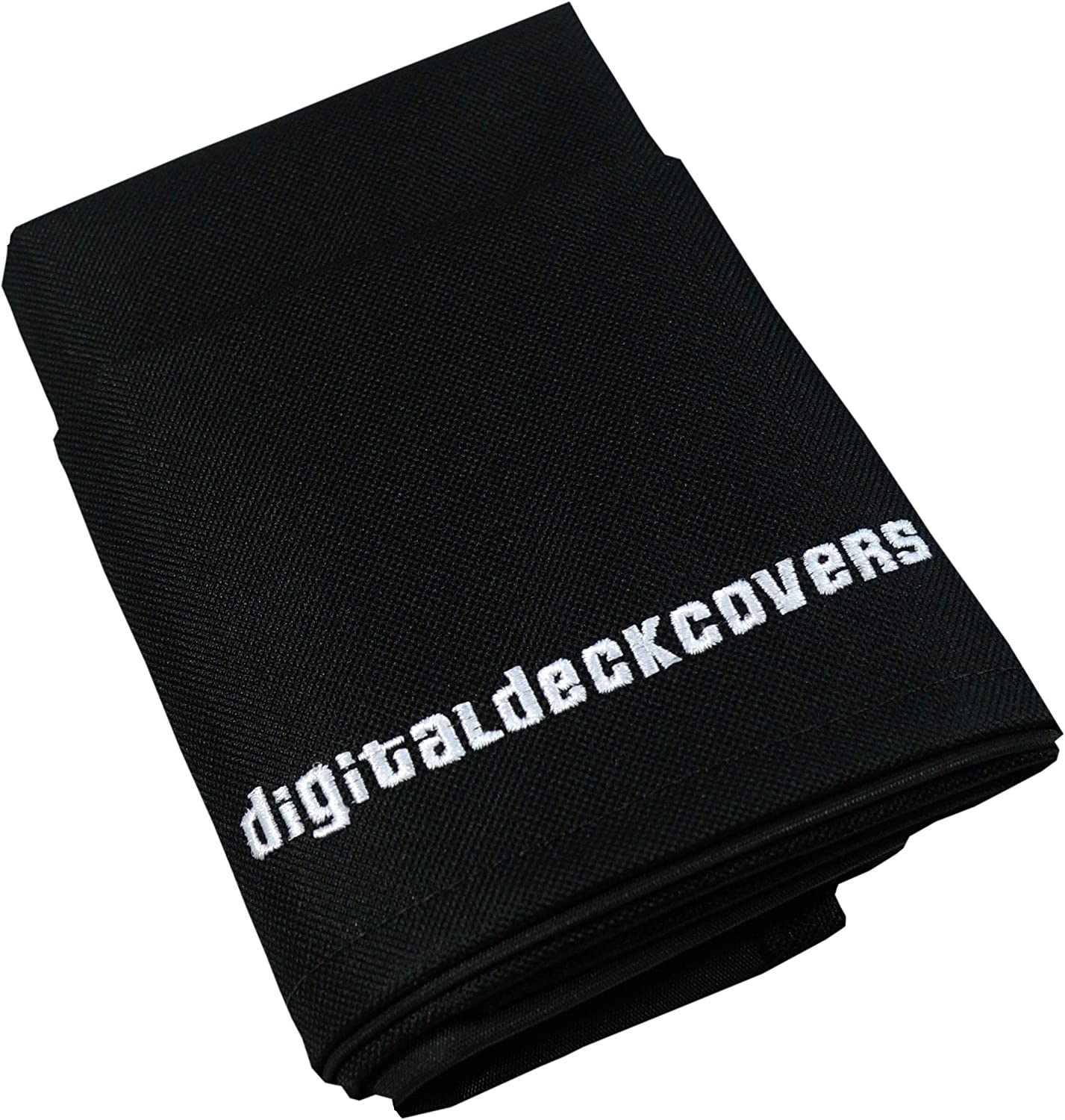 DigitalDeckCovers Printer Dust Cover for Canon Pixma MX712 / MX860 / MX870 / MX882 / MX885 / MX892 Printers [Antistatic, Water Resistant, Heavy Duty Fabric, Black]