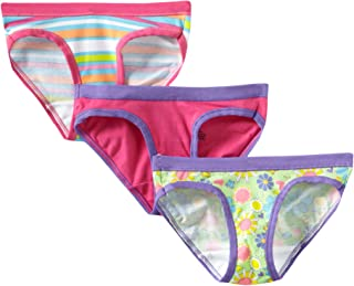 Girls' 3-Pack Stretch Hipster Panties