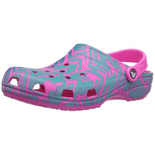 55a5be5e3 Crocs Men s and Women s Classic Graphic Clog