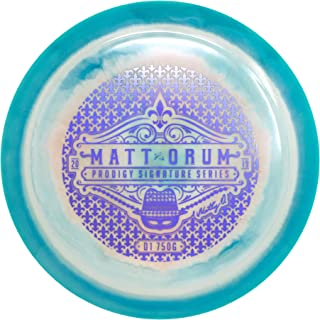 Prodigy Disc Limited Edition Signature Series Matt Orum 750G Spectrum D1 Distance Driver Golf Disc [Colors May Vary]