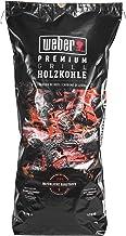 Weber Premium Holzkohle 10 kg Carbón vegetal, Negro