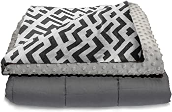 Quility 86 X 92 Inch Weighted Heavy Heating Blankets