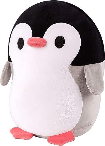 SQUISHY DOT Stuffed Animal Penguin, Large Plush, Giant Soft Penguin plushie, Plush Toy Sleep Buddy, for Cuddling, Str...